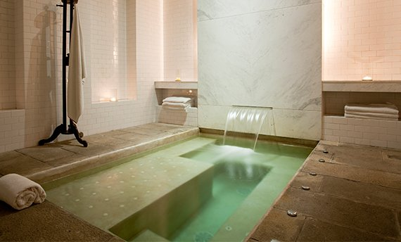 Luxurious stone spa