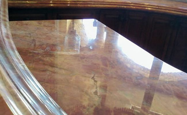 ... Marble Vanity Top Etches Removed